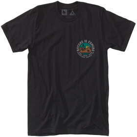 Hippy Tree Headland Camiseta Hombre, black